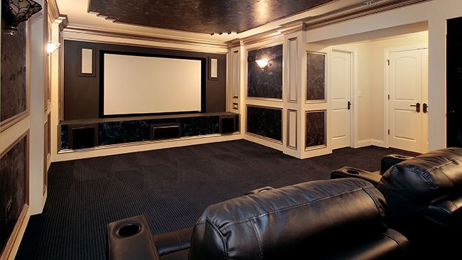 Deluxe Audio & Video Naperville Home Theater / Media Rooms